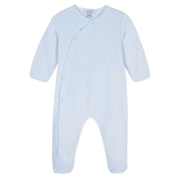 Baby Boys Blue Star Romper