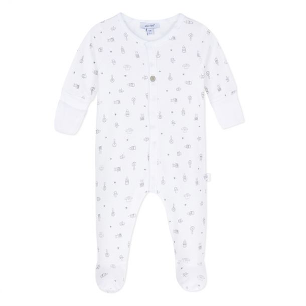 Baby Romper With Mittens