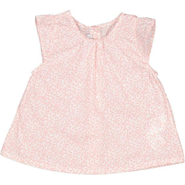 Baby Girls Pink Liberty Blouse