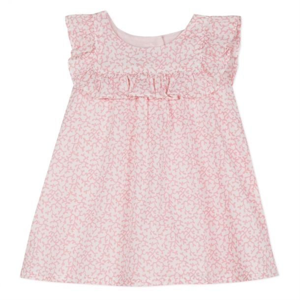 Baby Girls Pink Liberty Dress