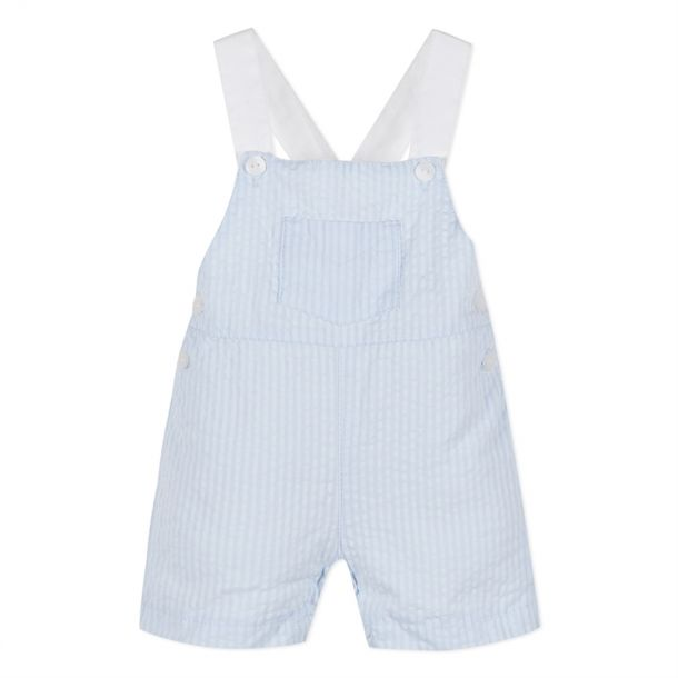 Baby Blue Striped Dungaree