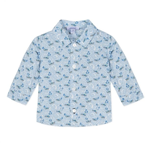 Baby Boys Liberty Print Shirt