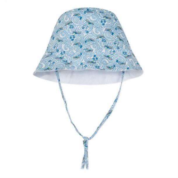 Baby Blue Liberty Print Sun Hat