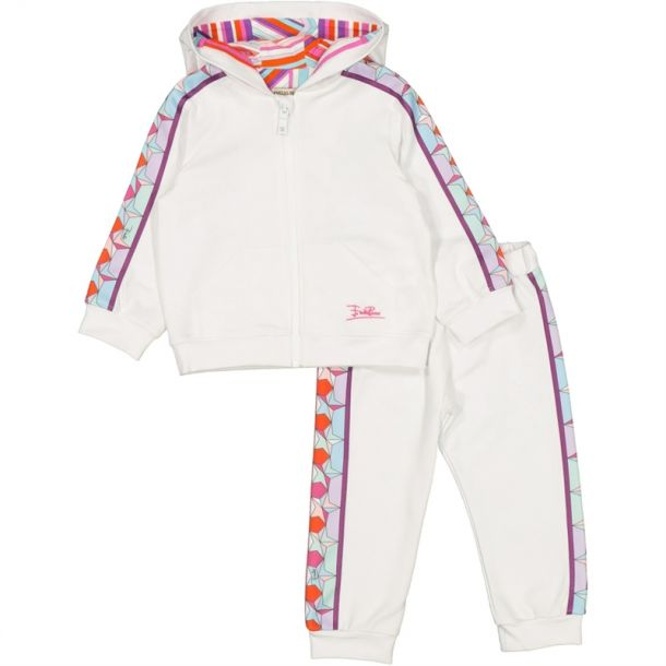 Baby Girls Jersey Tracksuit