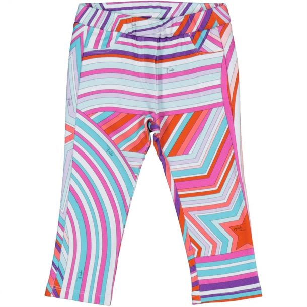 Baby Girls Star Fabric Legging