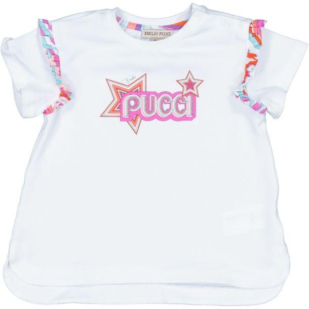 Baby Girls Star Logo Top