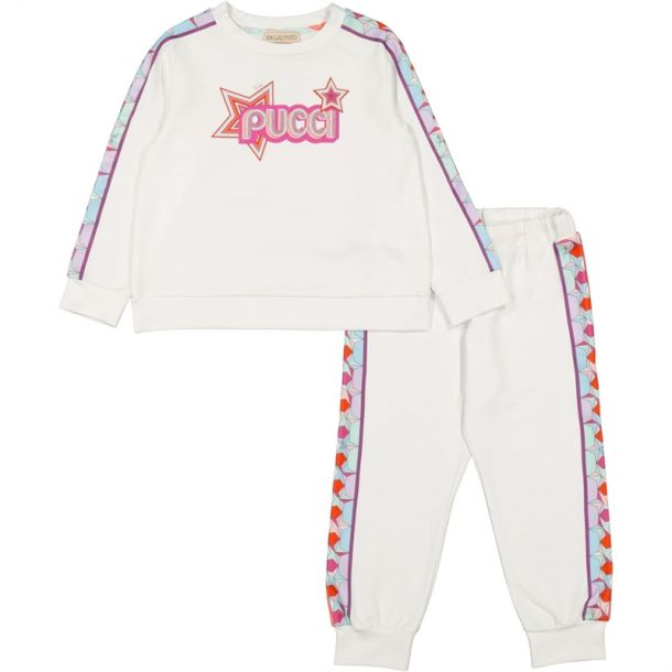 Girls Falling Star Tracksuit