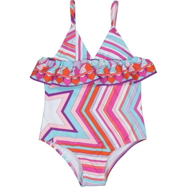 Girls Falling Star Swimsuit
