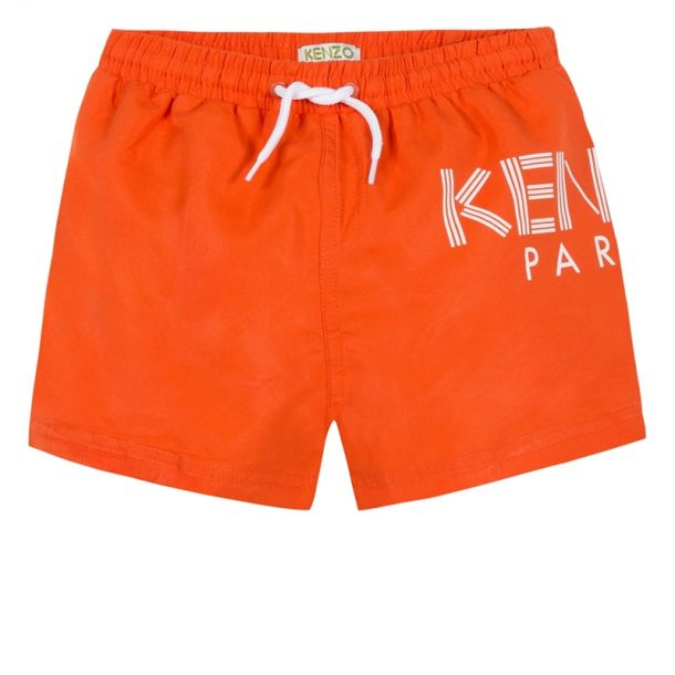 Boys Paris Orange Swimshorts