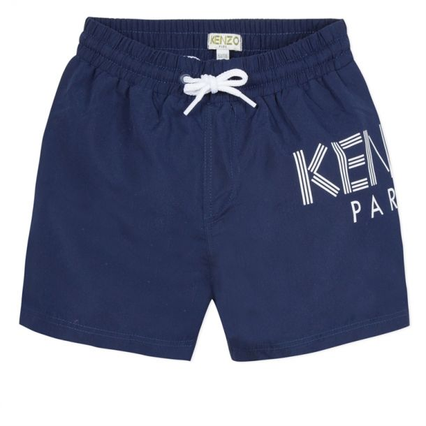 Boys Paris Navy Swimshorts