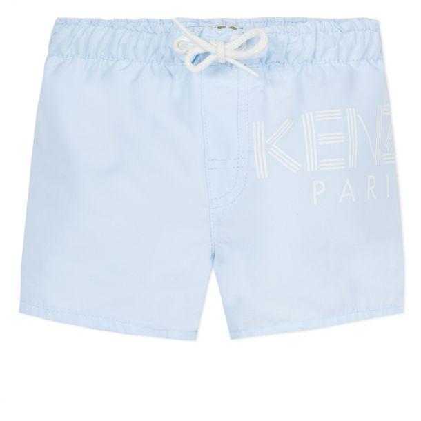 Baby Boy Kenzo Logo Swimshorts