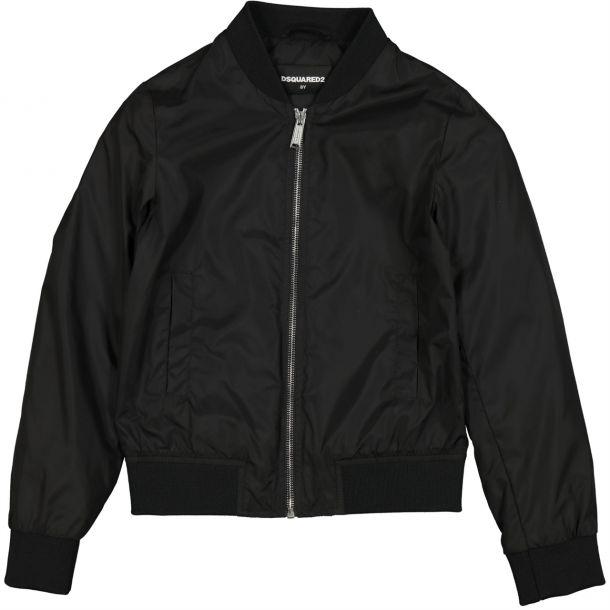 Boys Branded Nylon Icon Jacket