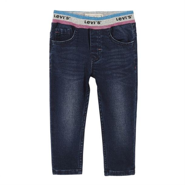 Baby Girls Logo Waist Jeans
