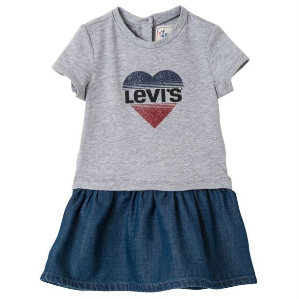 Baby Girls Heart Logo Dress