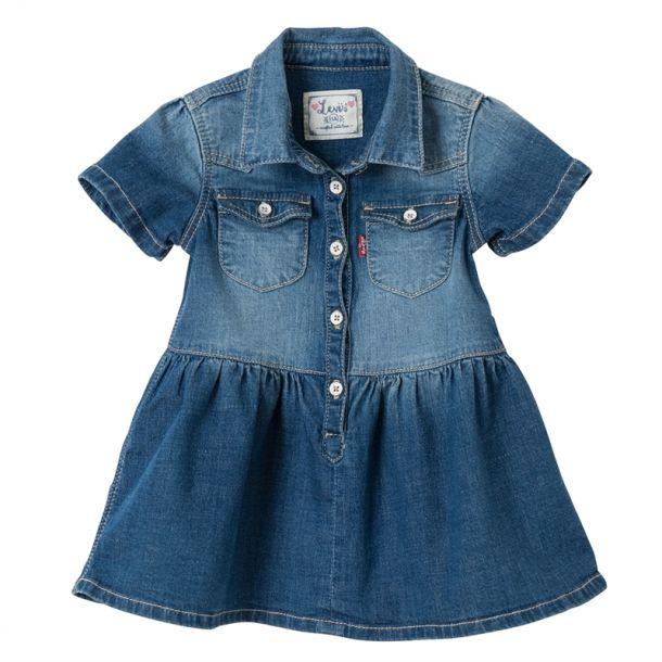 Baby Girls Denim Dress