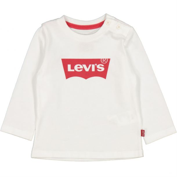 Baby Boys White Long T-shirt