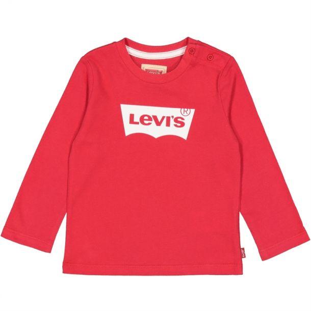 Baby Boys Red Long T-shirt