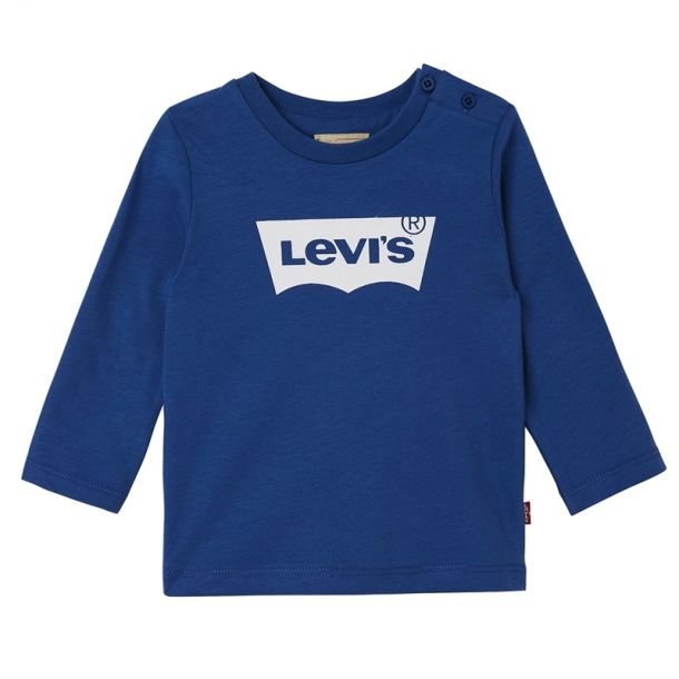 Baby Boys Blue Long Sleeve T-shirt