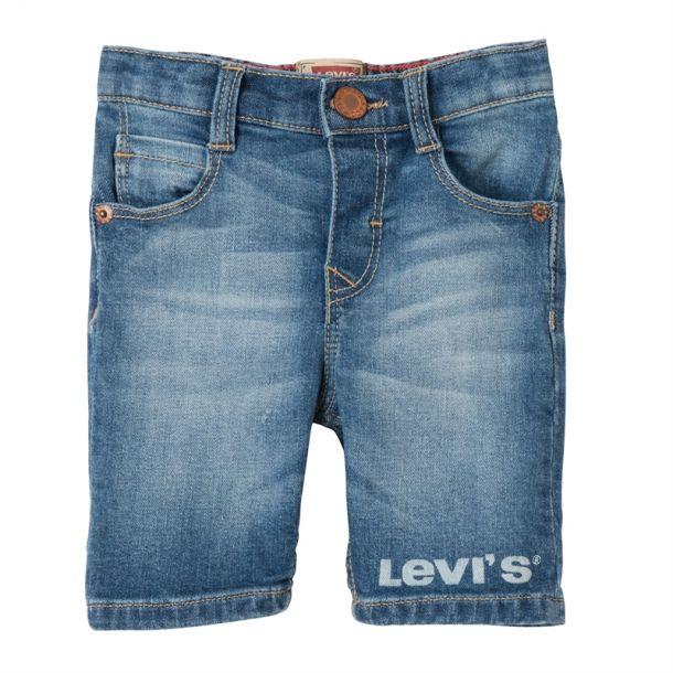 Baby Boys Logo Denim Shorts