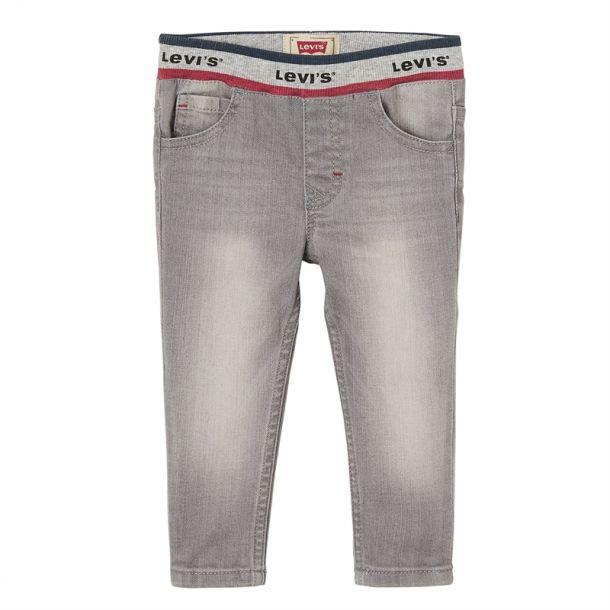 Baby Boy Logo Waist Grey Jeans