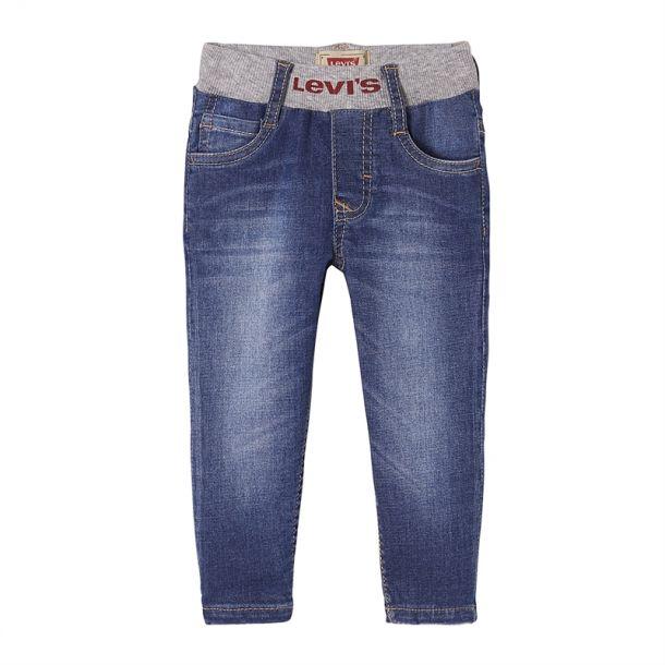 Baby Boys Grey Waistband Jeans