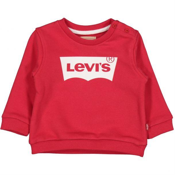 Baby Boys Red Logo Sweatshirt