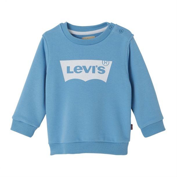 Baby Boys Blue Logo Sweatshirt