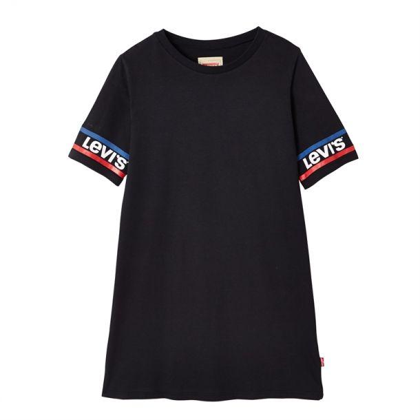 Girls Branded Sleeve Dress