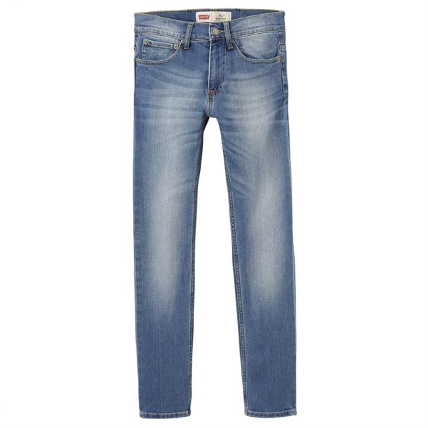 Boys Light Denim Skinny Jeans