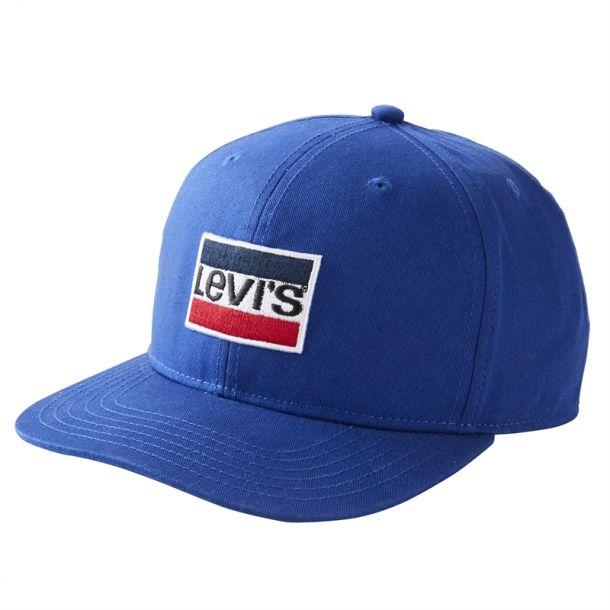 Boys Classic Logo Blue Cap