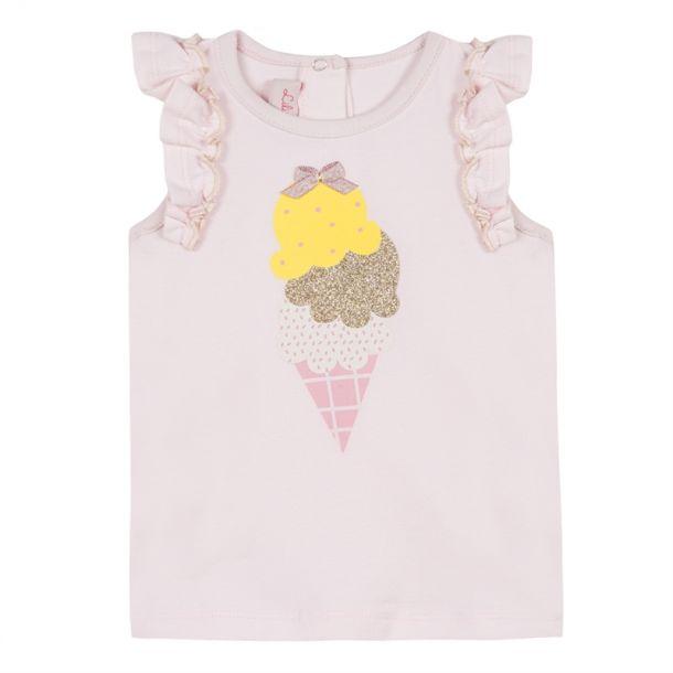 Baby Girls Ice Cream Vest