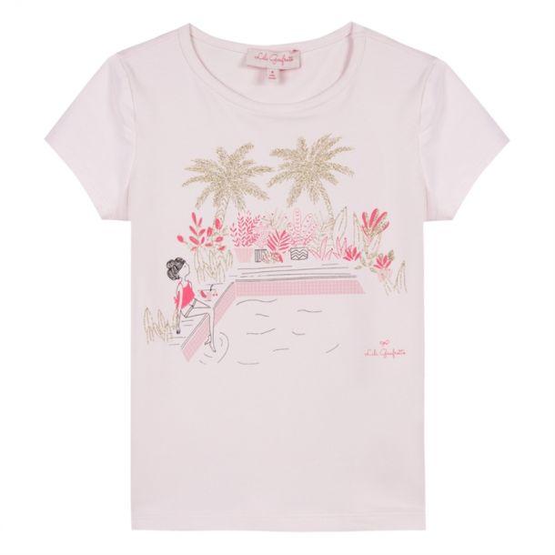 Girls Glitter Palm T-shirt