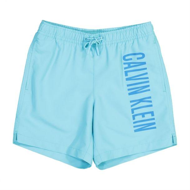 Boy Light Blue Swim Trunks