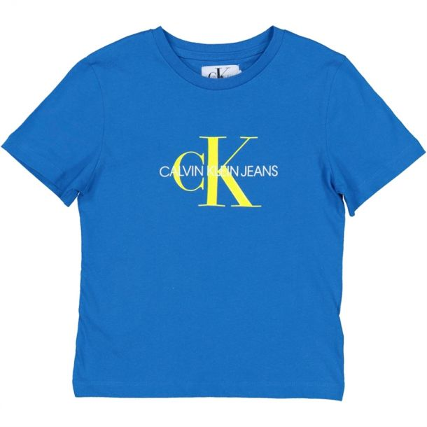 Boys Blue Monogram T-shirt
