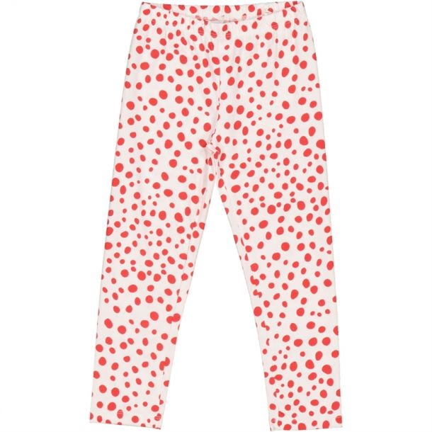 Girls Tiska Red Dots Leggings