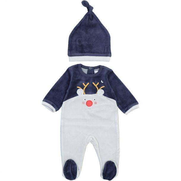 Baby Reindeer Romper & Hat