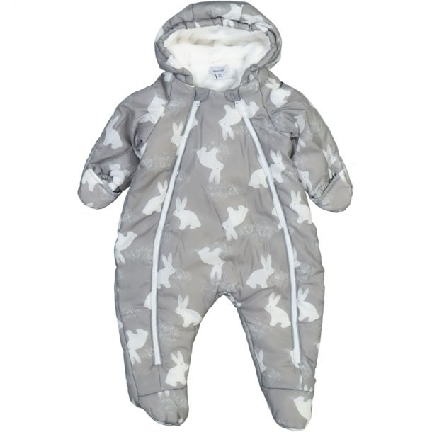Baby Bunny Padded Snowsuit