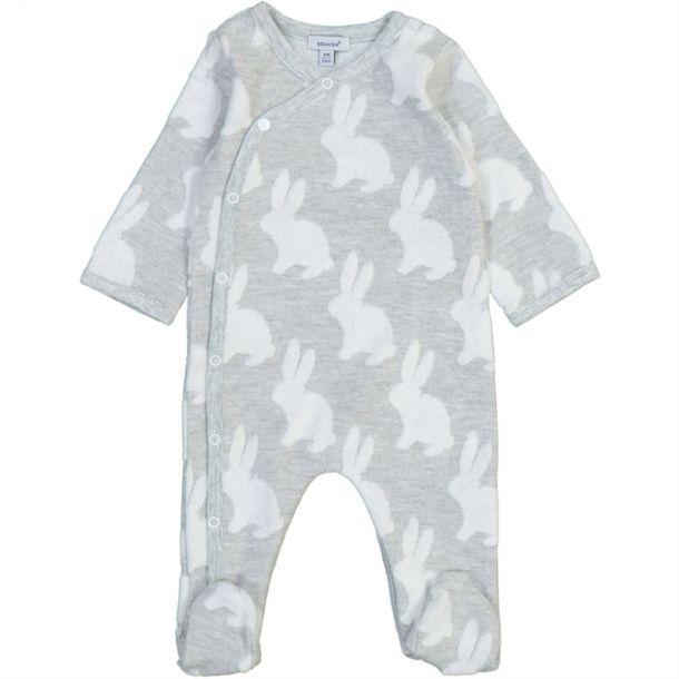 Baby Bunny Jersey Romper