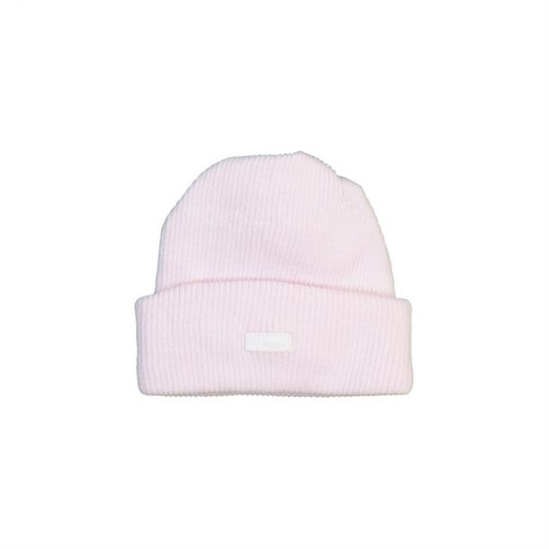 Baby Girl Ribbed Cotton Hat