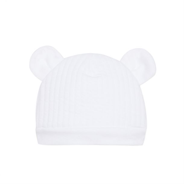Baby Ribbed Cotton Ears Hat