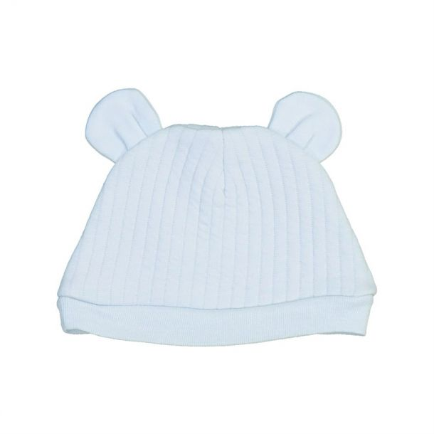 Baby Boys Ribbed Ears Hat