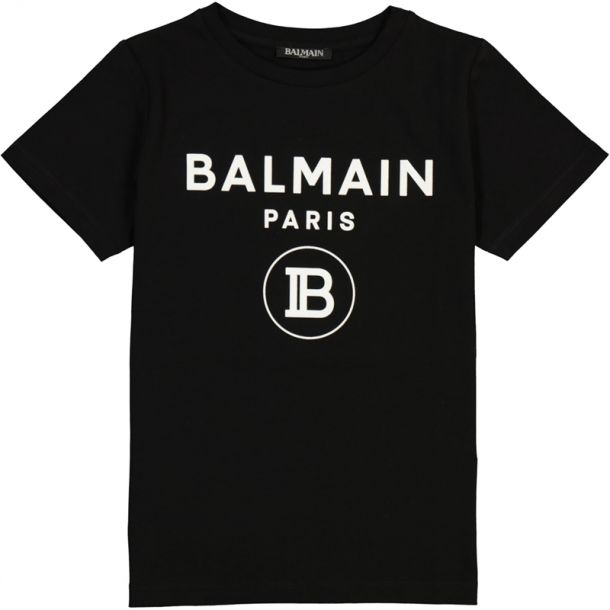 Unisex Black Branded T-shirt