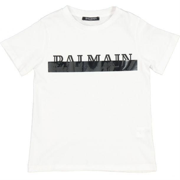 Unisex White Branded T-shirt