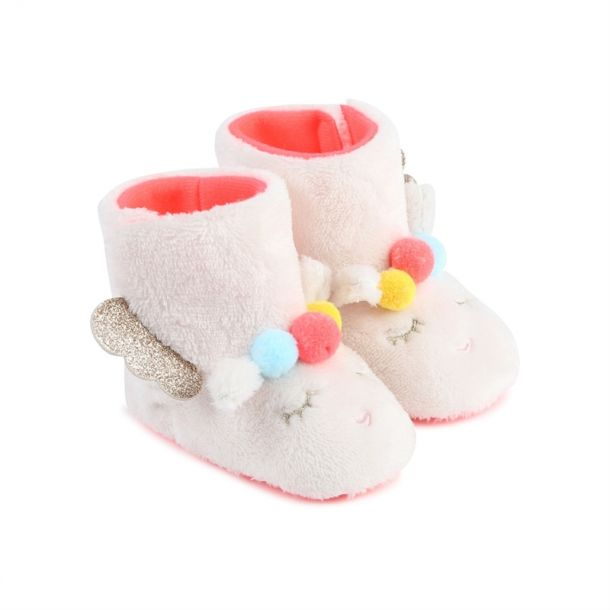 Baby Girls Faux Fur Bootee