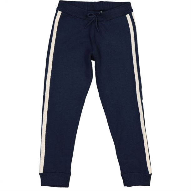 Girls Lurex Trim Joggers