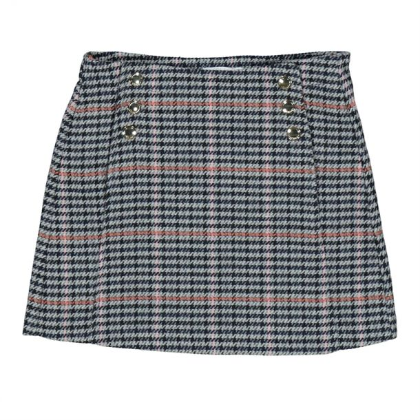 Girls Check Skirt