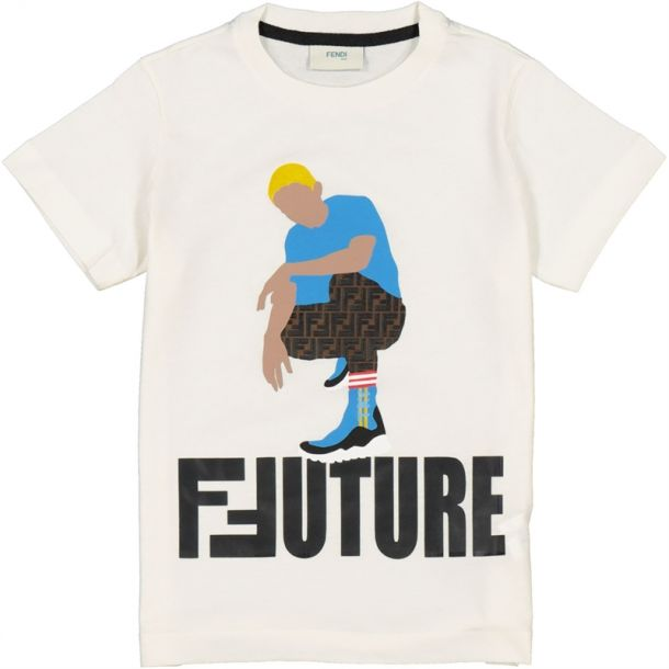Boys Ffuture Print T-shirt