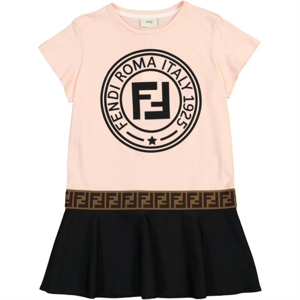 Girls Ff Fendi Roma Dress