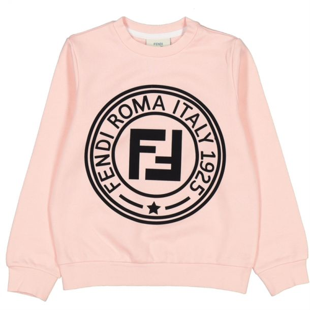 Girls Fendi Roma Print Sweat
