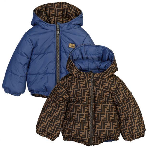 Baby Ff Reversible Jacket